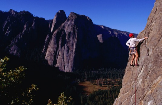 3. ROCK CLIMBING, YOSEMITE VALLEY, USA. They say Yosemite Valley is climbing mecca, with climbs coveted by 'rock heads' ...