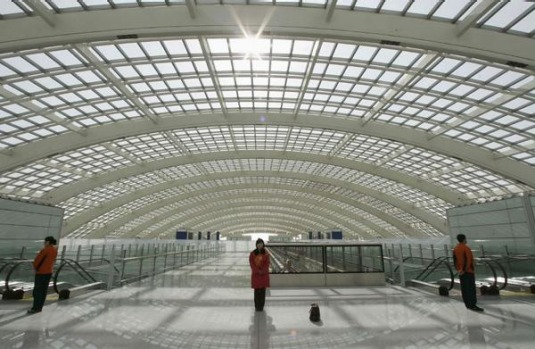 Beijing Airport was a newcomer to the best airports top five, coming in at number four.