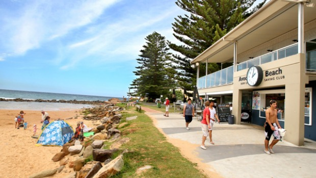 The great escape ... childhood memories are made at Avoca Beach, by the sea and the estuary.
