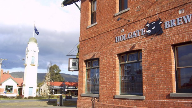 Hops on offer ... the Holgate brewery provides different tour packages.