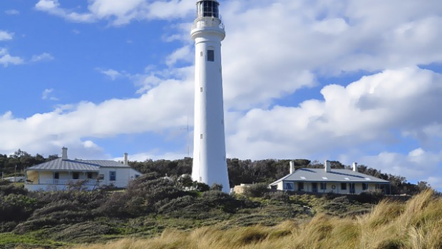High spirits ... Point Hicks Lighthouse is said to be haunted by its former keeper.