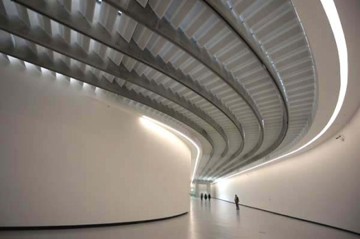 Maxxi, Rome, Italy. The Maxxi is not the most colourful or quirky building from the outside, but inside this ...