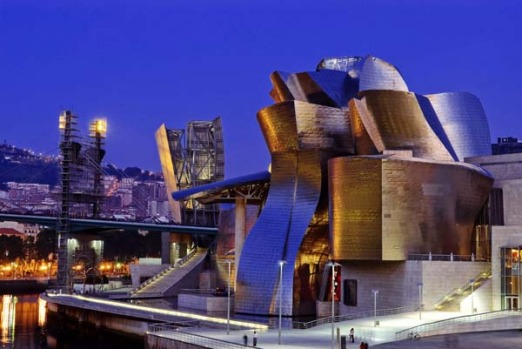 Guggenheim Museum, Bilbao, Spain. For many, Frank Gehry's shiny, twisting masterpiece is the continent's most dazzling ...