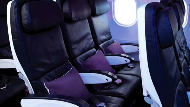 'Totally psyched' ... Virgin America has been rated the country's best domestic airline.