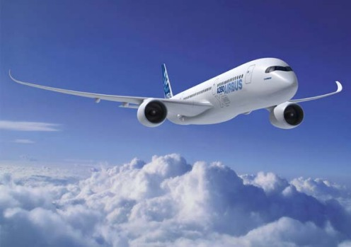Dreamliner rival ... an artist's impression of the planned Airbus A350 XWB.