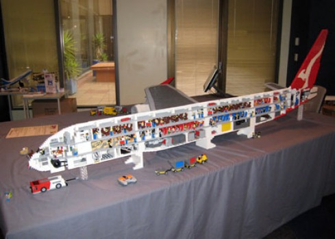 SQ Takes Delivery Of A380 ....(Lego) - Airliners.net