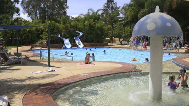 Pool resources ... holiday parks have facilities that compare well with family-oriented resorts.