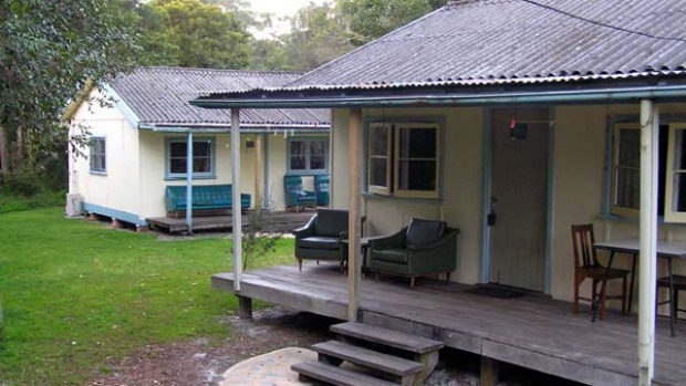 Return to the 1950s ... fibro cabins at The Springs.