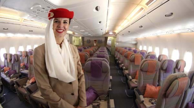 Airline Review Emirates A380 Economy Class