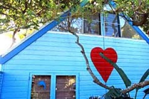 Let the love in ... the house is filled with hearts.