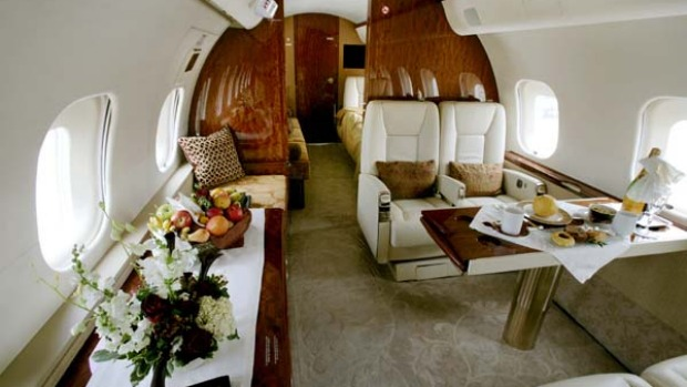 Europe or bust ... private jets are available for up to $450,000.