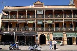 The people's pub ... the refurbished Royal Hotel in Bathurst is home to the Royal Apartments.