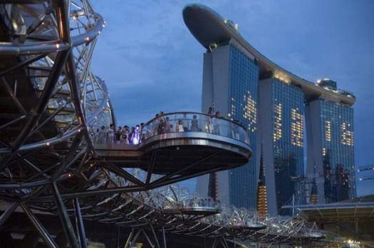 The $5.9 billion Marina Bay Sands, the world's No.2 most expensive casino after MGM Mirage's CityCenter in Las Vegas, ...