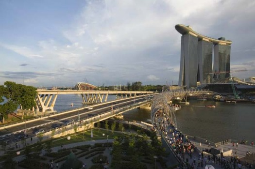 The $US5.5 billion Marina Bay Sands, the world's No.2 most expensive casino after MGM Mirage's CityCenter in Las Vegas, ...