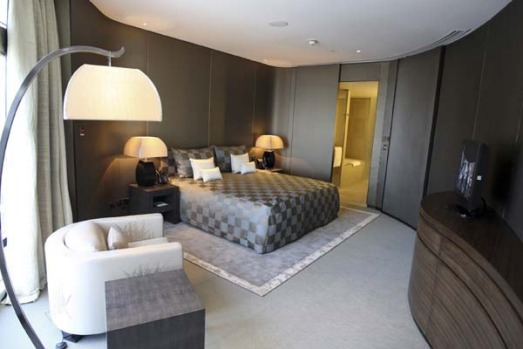 Hotel staff said a night at the best suite - the Armani Dubai suite, and it was already occupied on Tuesday - costs ...