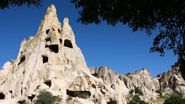 Hive of activity ... Goreme Open-Air Museum.
