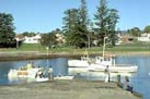 The harbour at Shellharbour
