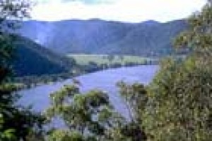 The Hawkesbury River at Wisemans Ferry