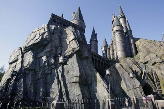 Hogwarts Castle is seen at The Wizarding World of Harry Potter at Universal Orlando theme park in Orlando, Florida.