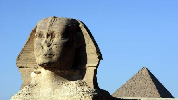 Page-turner ... Egypt is a setting worthy of spy Alex Rider (played by Alex Pettyfer in Stormbreaker); the Sphinx and ...