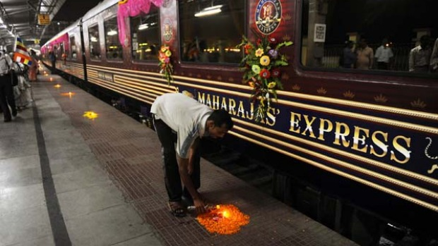 Tea Lights With Timers Maharajas' Express train trip review | India, Mumbai to ...