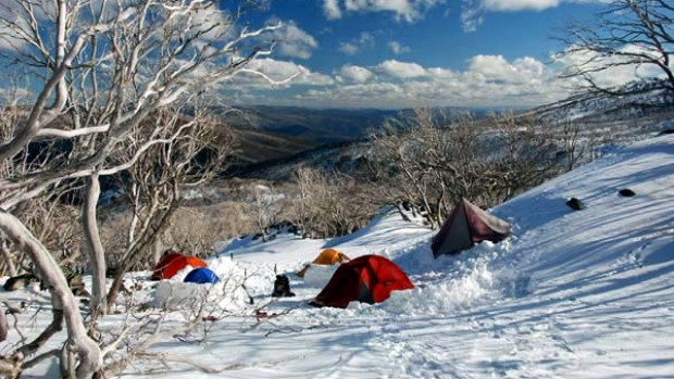 snowy mountains camping survival in the snow no country for cold men