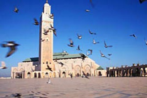 You must remember this ... Hassan II Mosque in Casablanca.