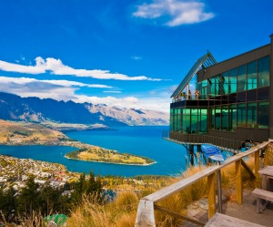 Queenstown, bungy view