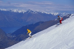 Skiing, Queenstown