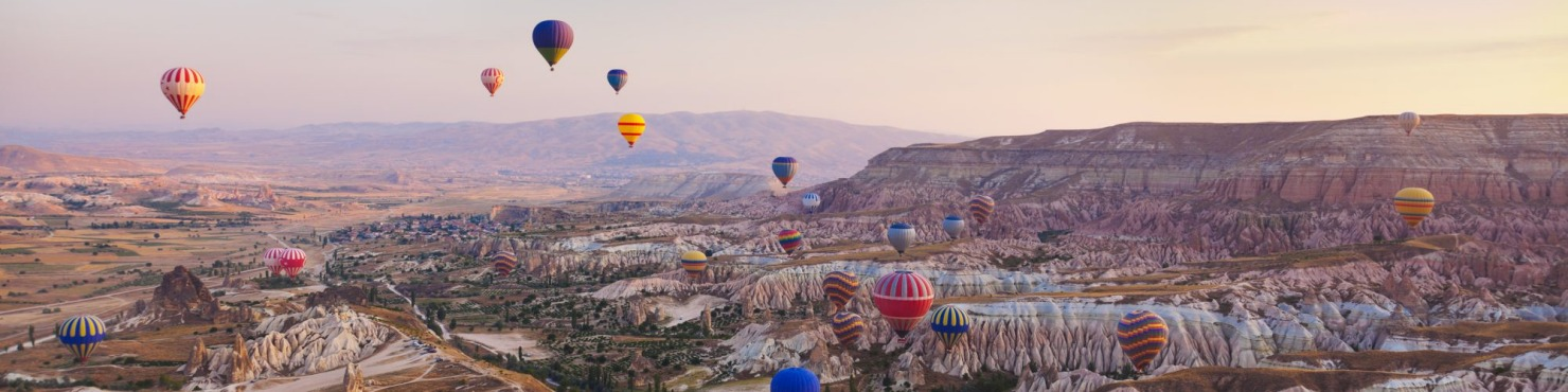 Turkey, hot air balloon,