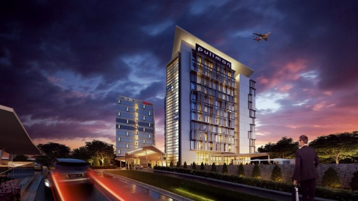 Work on the five-star, 130-room Pullman Hotel and the 3.5-star, 243-room Ibis Hotel will start early next year.