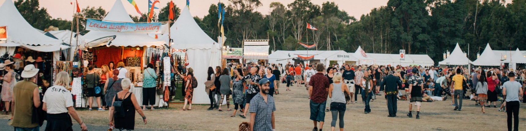 Festival at Byron Bay.